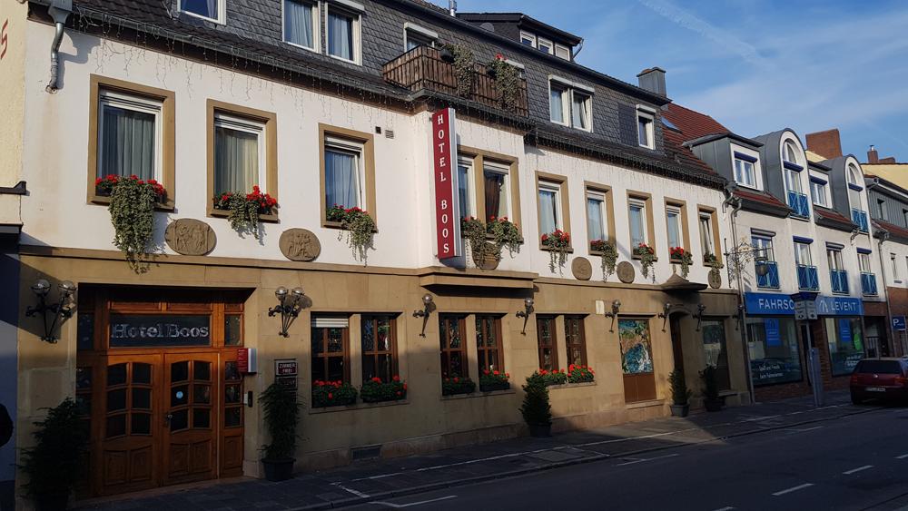 Aussenansicht Hotel Boos Nibelungen Themenhotel Worms