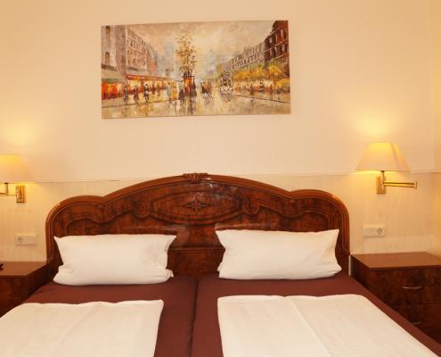 Doppelzimmer Hotel Boos Nibelungen Themenhotel Worms